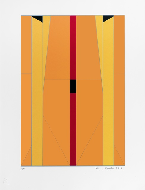 Fanny Sanin, 'Print No. I', 2012, Durban Segnini Gallery