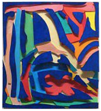 , 'Maquette for Negative Blue (Deep),' 1996, Chowaiki & Co.