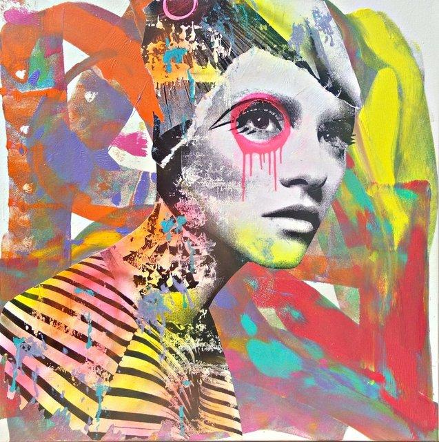 , 'Stripe Graff Neck,' 2016, Avant Gallery