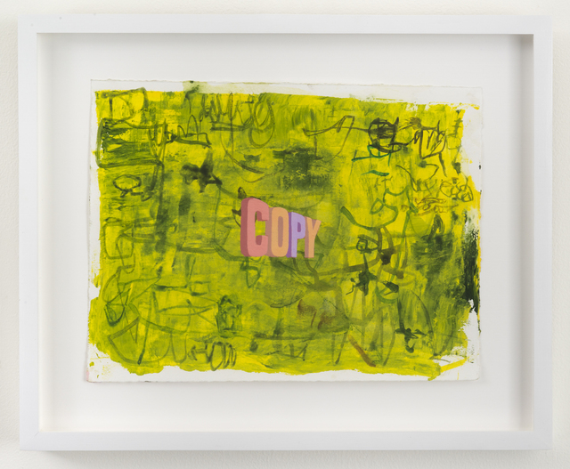 , 'COPY,' 2017, Joshua Liner Gallery