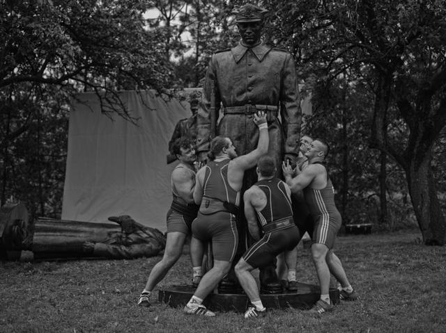 , 'Heavy Weight History (Brotherhood of Arms),' 2013, PROYECTOSMONCLOVA