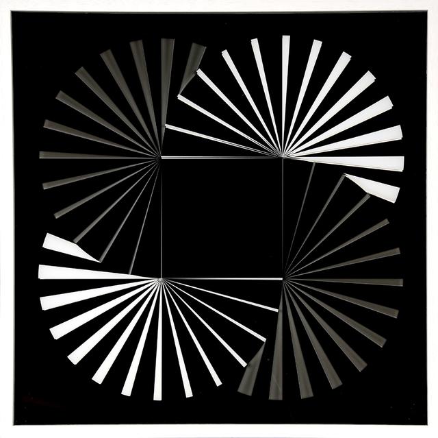 ", '""Komposition 621 B"",' 2017, Galerie-F"