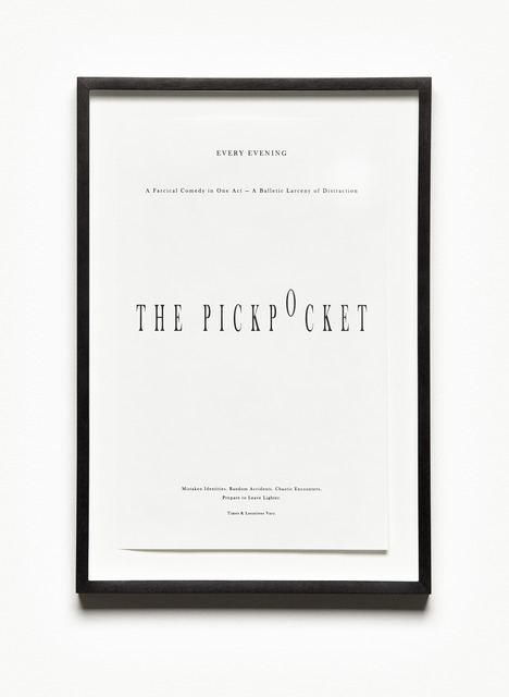 , 'The Pickpocket,' 2013, i8 Gallery