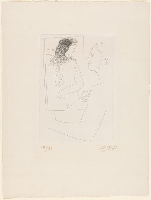 Pablo Picasso, 'Peintre Devant Son Tableau (B. 92)', 1927, Doyle