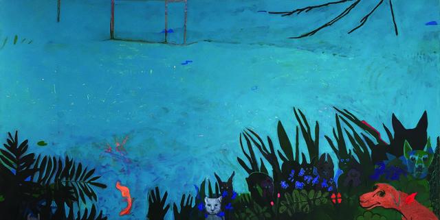 , 'Blue Pond,' 2017, Cerulean Arts
