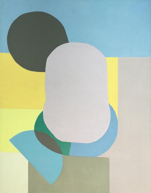 , 'Yellow, Grey and Blue,' 1970-1979, Modern West Fine Art
