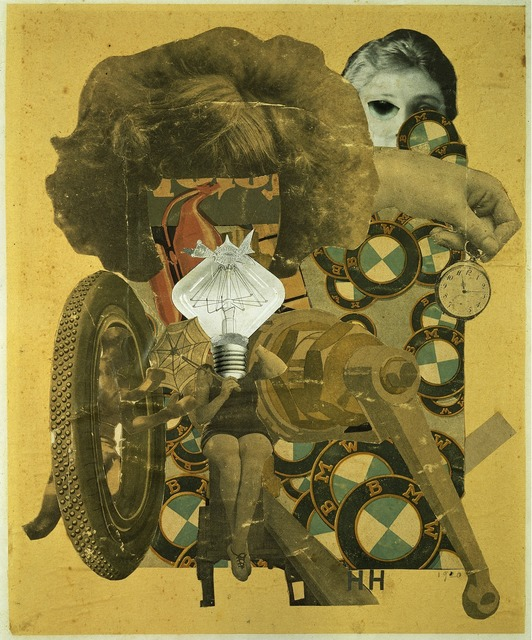 Hannah Höch, 'Das schöne Mädchen [The Beautiful Girl]', 1920, ARS/Art Resource