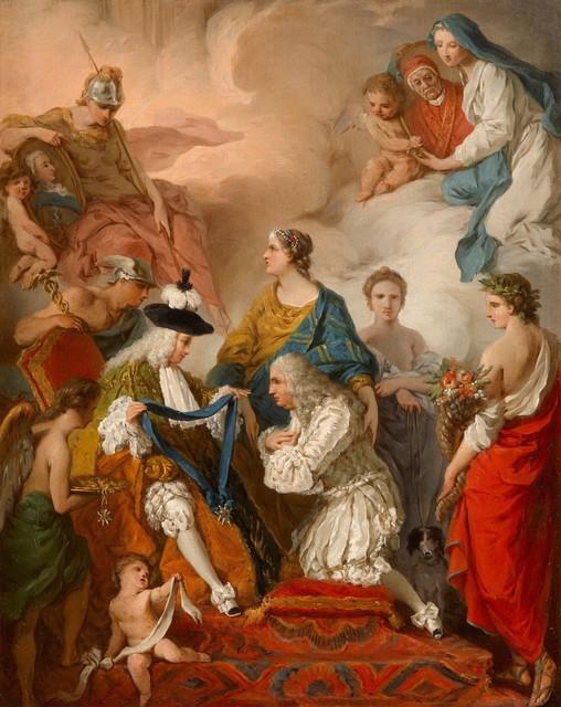 , 'The Duke of Saint-Aignan decorating the Prince Vaini,' , Robilant + Voena