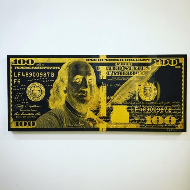 , 'BLACK & GOLD NEGATIVE BENNY,' 2017, Marcel Katz Art
