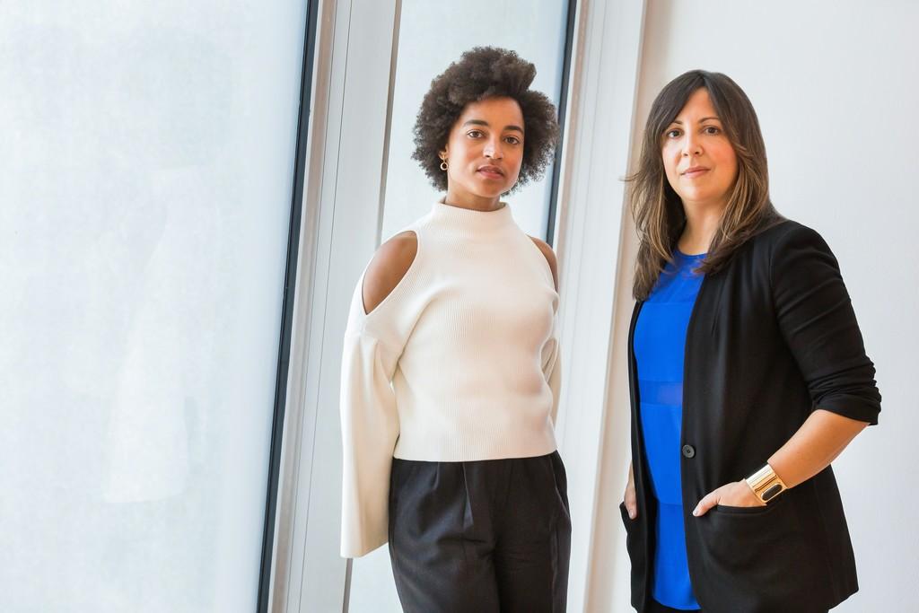 Rujeko Hockley (left) and Jane Panetta (right). Photograph by Scott Rudd.