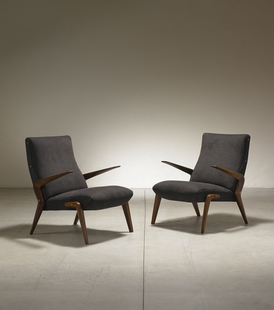 , 'Pair of armchairs mod. P71 ,' 1954, Nilufar Gallery