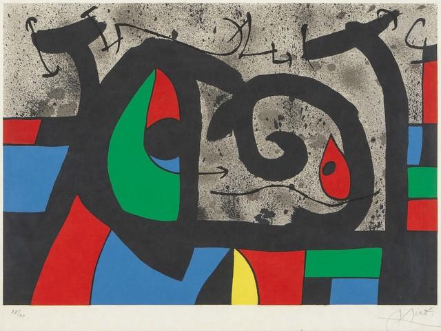 , 'Le Lézard aux Plumes d'Or,' 1971, Galerie Raphael