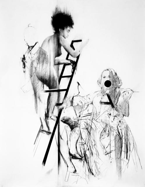 , 'Tableaux Vivant IV (P.Q., la mère et F.B.S. descendant l'escalier),' 2017, MLF | MARIE-LAURE FLEISCH