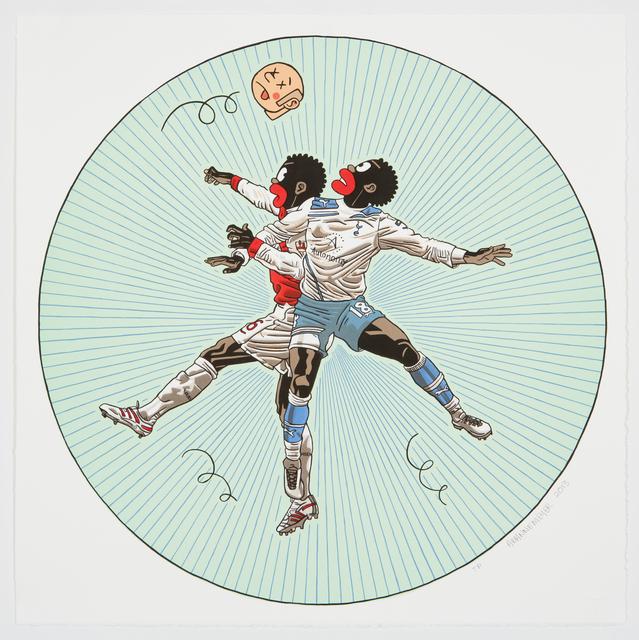 , 'Soccer,' 2013, Galerie Ernst Hilger