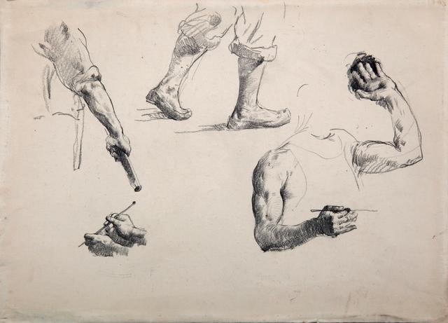, 'Sketch,' 1947, Hakgojae Gallery
