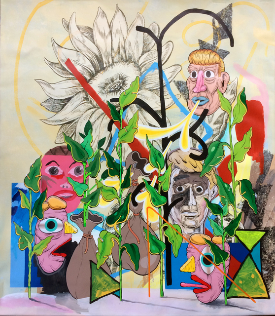 Mark Mulroney, 'The Word is Spring', 2020, Painting, Acrylic on canvas, ALLOUCHE BENIAS