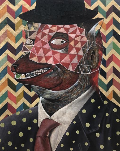 Rodel Tapaya, 'Mr. Wolf', 2019, A3 Arndt Art Agency