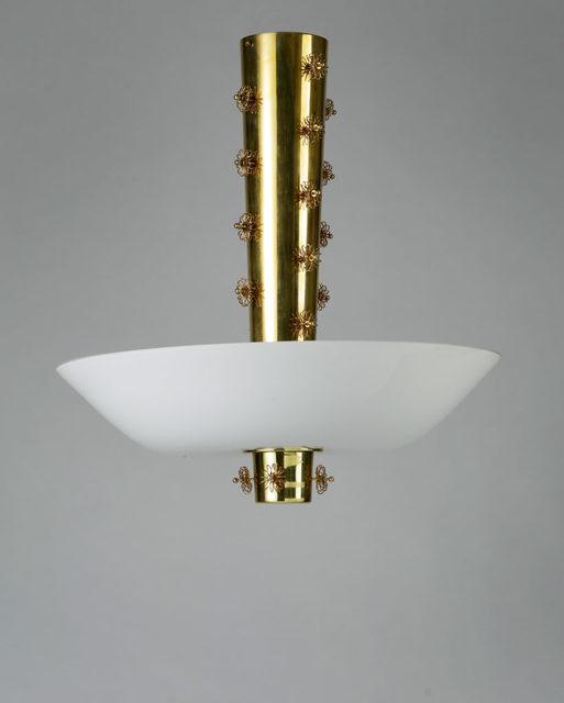 , 'Ceiling lamp,' 1950-1959, Modernity