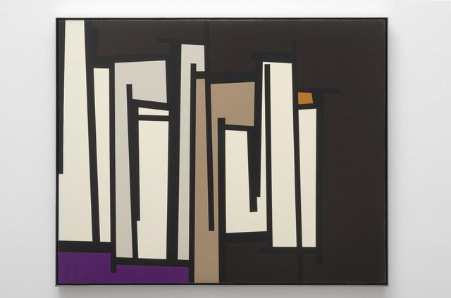 Karl Benjamin, 'TG #18', 1961, Painting, Oil on canvas, Louis Stern Fine Arts