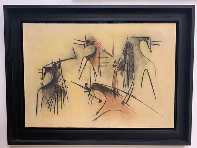 Wifredo Lam, 'Femme Cheval en Baile', 1957, Robin Rile Fine Art