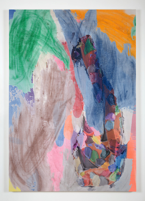 """, '""""Manifold Painting (Color Mold)"""" ,' 2018, James Harris Gallery"""