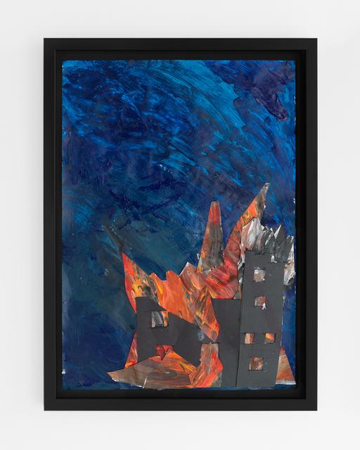 , 'Burning Church,' ca. 2015, Sæter Jørgensen Contemporary