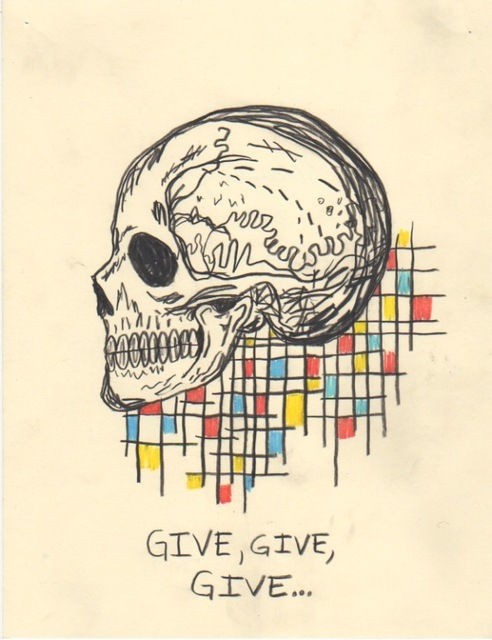 , 'Untitled (Give give give),' 2015, V1 Gallery