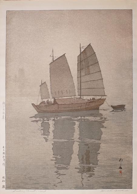 , 'Sailboats - Mist,' 1926, Ronin Gallery