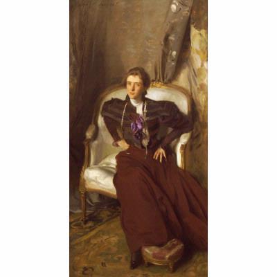 John Singer Sargent, 'Portrait of Mrs. Charles Thursby', 1897-1898, Newark Museum