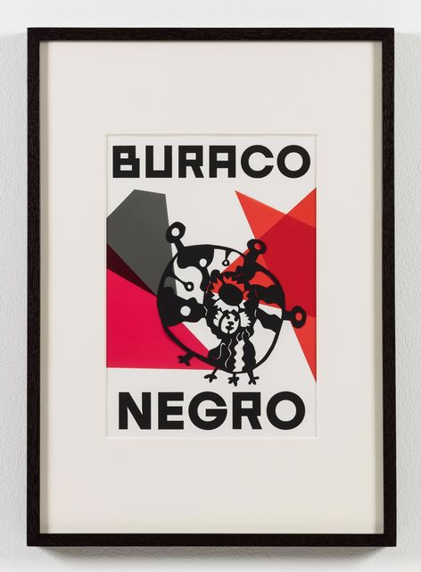 , 'O nome do medo (recorte): Buraco negro / The Name of Fear (cut-out): Black Hole,' 2017, Stephen Friedman Gallery