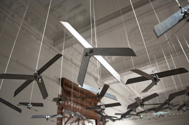 , 'Untitled (Drone Mobile II),' 2016, Aicon Gallery