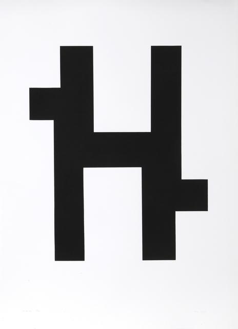 Nassos Daphnis, 'SS 2-78', 1978, Print, Silkscreen, RoGallery