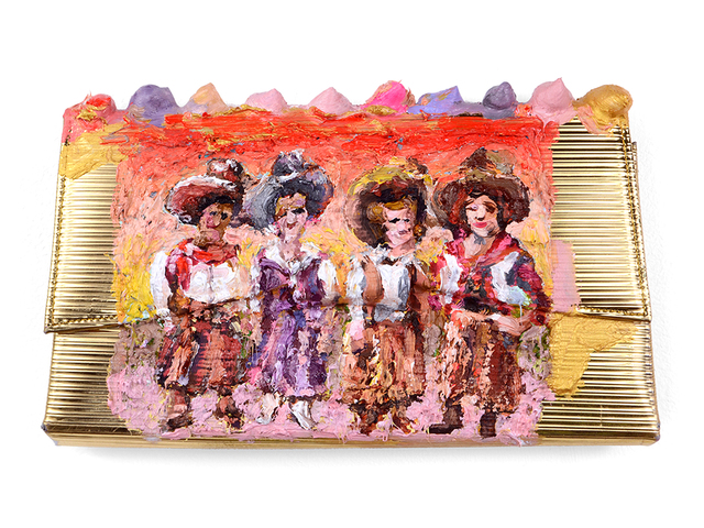 , 'Cooperative Cowgirls Clutch,' 2018, Fisher Parrish Gallery