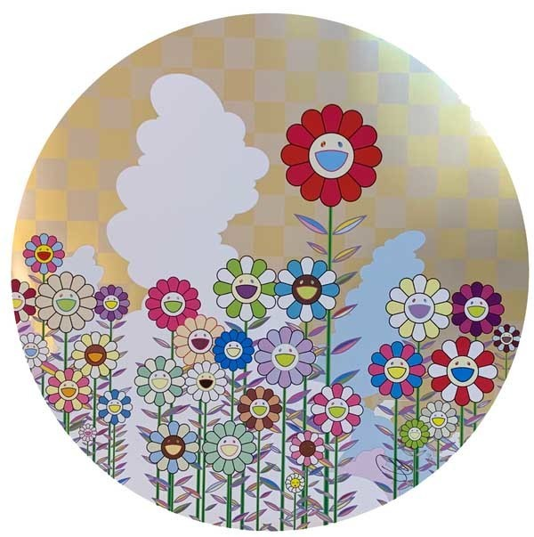 Takashi Murakami, 'A Memory of Him and Her on a Summer Day', 2018, Print, Offset print with cold-stamp, Lougher Contemporary
