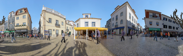 , 'Town Square, Ericeira, Portugal,' 2018, Soho Photo Gallery