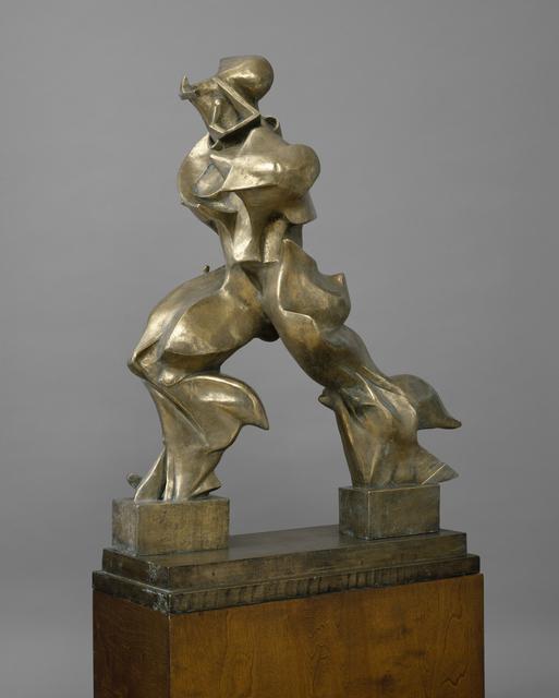, 'Unique Forms of Continuity in Space (Forme uniche della continuità nello spazio),' 1913 (cast 1949), Guggenheim Museum