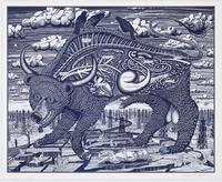 Grayson Perry, Animal Spirit (Blue)