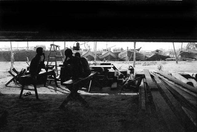, 'The Resignation of Yesterday's Boatmen,' 1980, Yeo Workshop