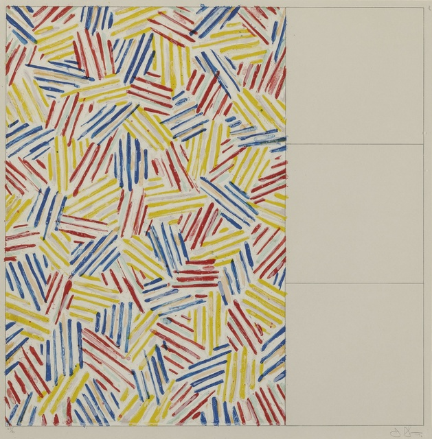 Jasper Johns, '#1-6 (After 'Untitled 1975') (ULAE, 174-179)', 1976, Sotheby's