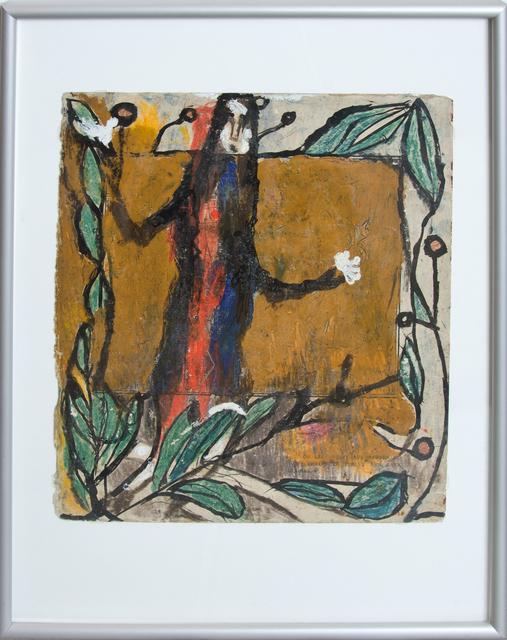 , 'Personnage et guirlandes de feuilles,' , Simon Studer Art