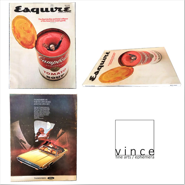 """Andy Warhol, '""""The Final Decline and total Collapse of the American Avant-Garde"""", Esquire Magazine - May 1969', 1969, Ephemera or Merchandise, Magazine, VINCE fine arts/ephemera"""