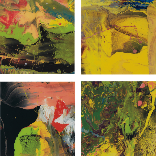 Gerhard Richter, 'Four works: (i) Flow (P4); (ii) Flow (P5); (iii) Flow (P6); (iv) Flow (P7)', 2014, Phillips