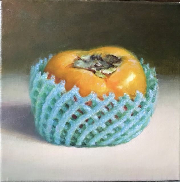 , 'One Persimmon,' 2018, East Gallery