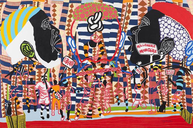 Boris Nzebo, 'Victoire', 2017, Jack Bell Gallery
