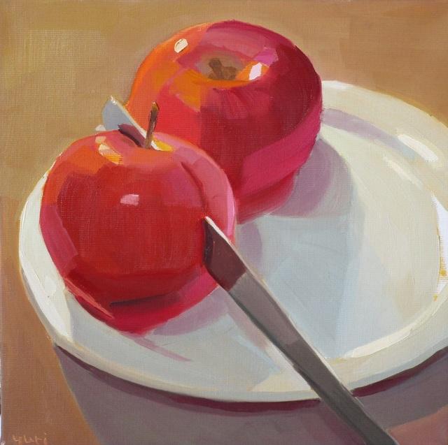 Yuri Tayshete, 'Cutting Apple', 2019, 440 Gallery