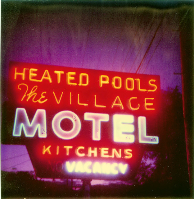 ", '""Village Motel - Heated Pool"",' 2005, Scott White Contemporary Art"