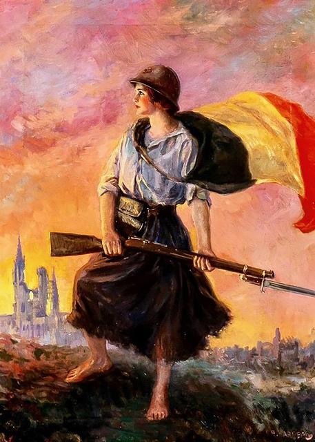 Frank Robert Harper, 'Defender of Her Homeland', 20th Century, The Illustrated Gallery