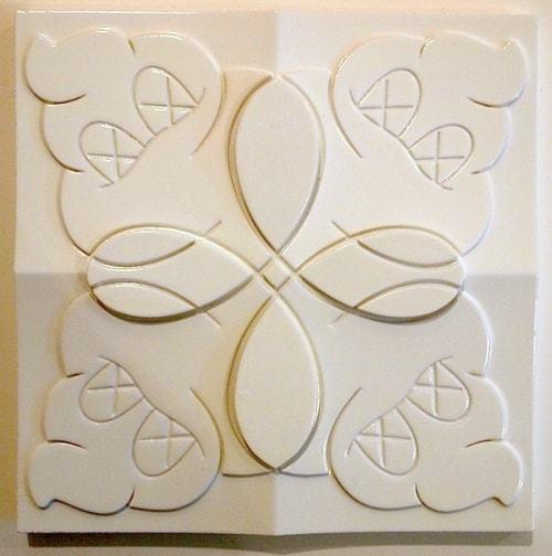 KAWS, 'OriginalFake Store Tile (White)', 2006, Dope! Gallery