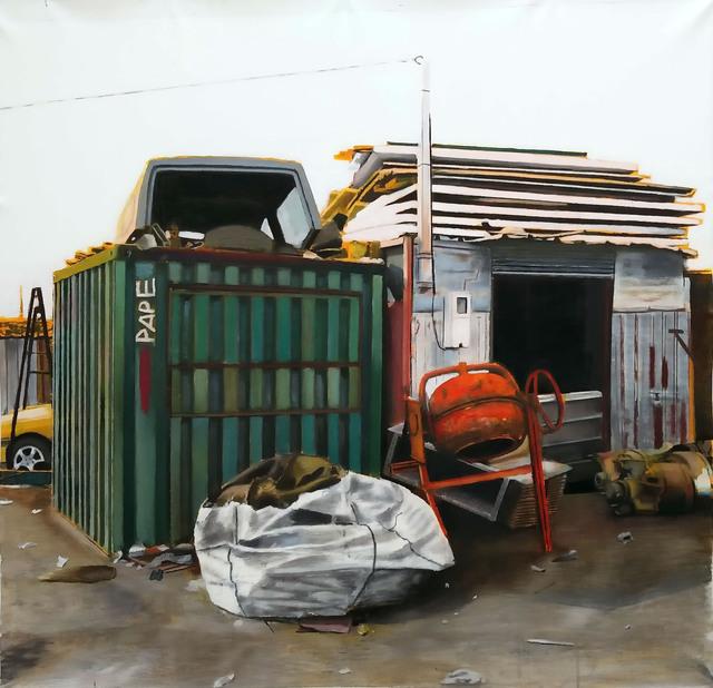 , 'Conteneurs, Colobane,' 2017, Galerie Cécile Fakhoury - Abidjan