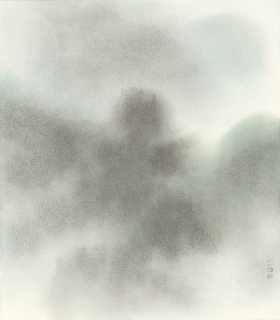 Chung-Ming Su, 'Green Forest and Jade Peak 茂林碧峰', 2017, Artrue Gallery